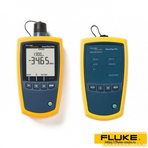 Набор для тестирования Fluke Networks SimpliFiber Pro Basic Certification Kit