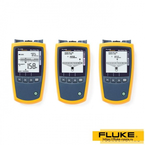 Набор для тестирования Fluke Networks MultiFiber Pro Power Meter, 850/1550 Sources Kit